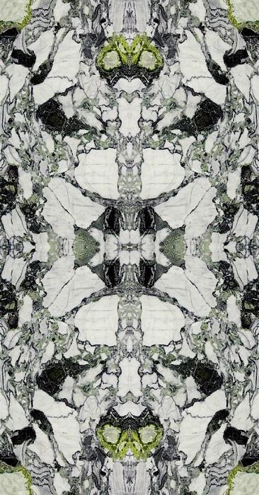 Симметричный рисунок раскладки натурального камня