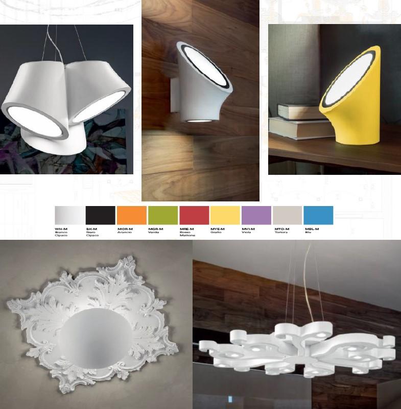 Свет в современном стиле от итальянской фабрики Masiero