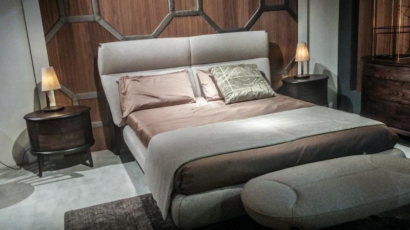 Кровать в стиле арт деко от Volpi (GIMO)