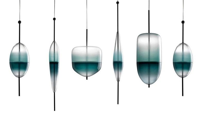 Nao Tamura со светильниками для Wonderglass