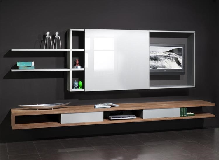 Встроенный в мебель телевизор