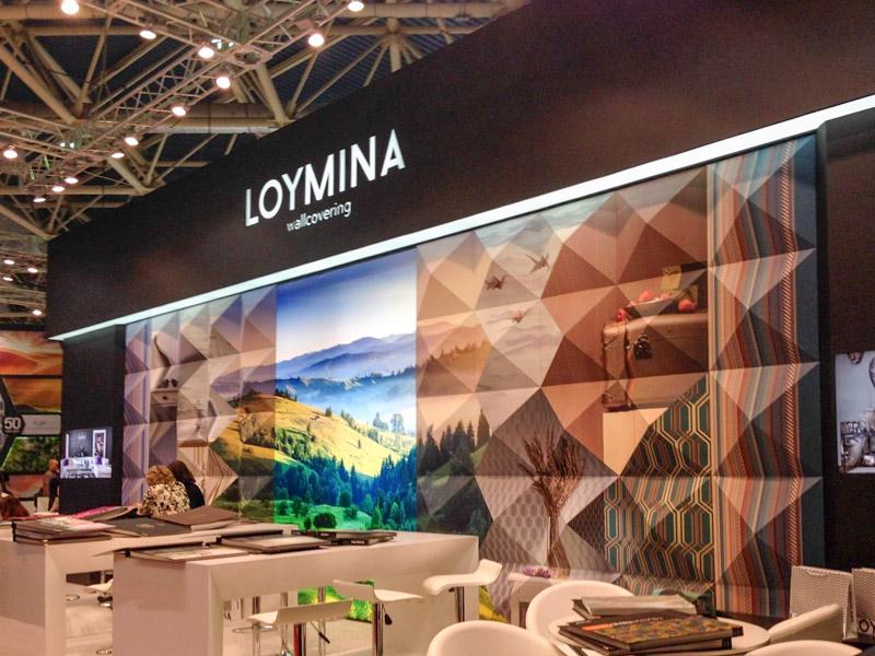Стенд фабрики Loymina на Мосбилд 2017