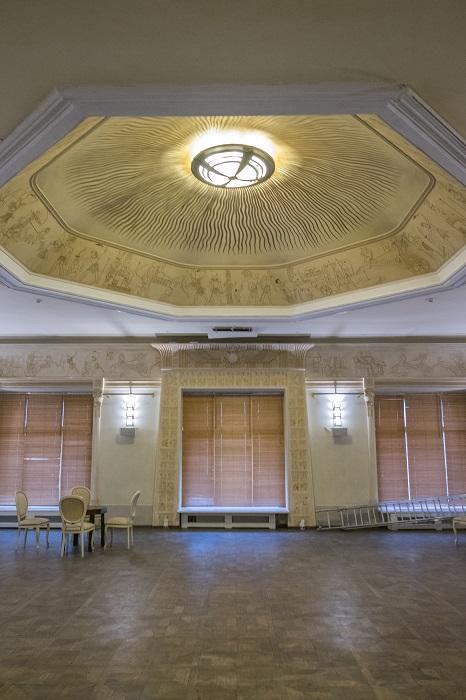 Египетский зал в особняке Смирнова в Москве