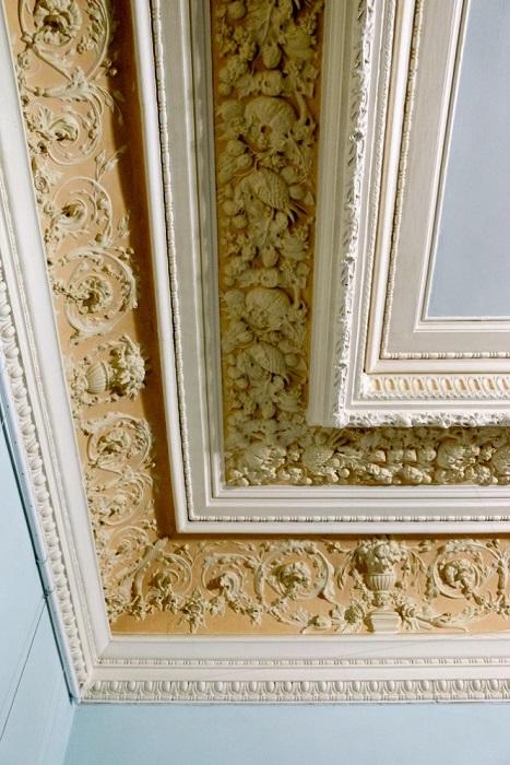 Классический потолок в историческом особняке
