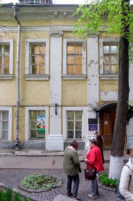 Фасад особняка Толстого