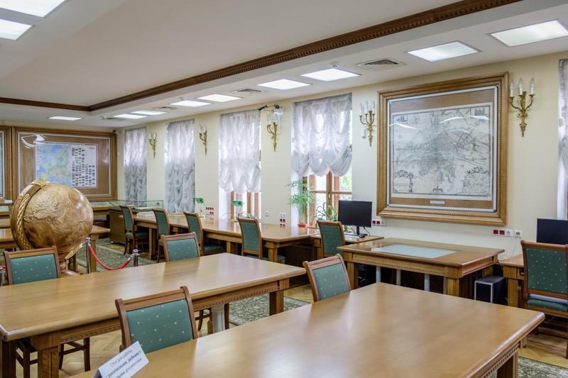 Читальный зал Библиотеки им. Ленина