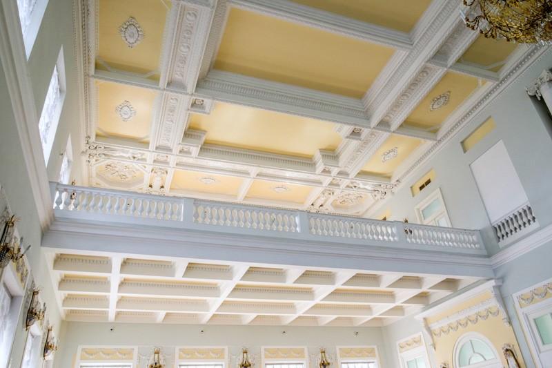 Кисонные потолки Дома Пашкова