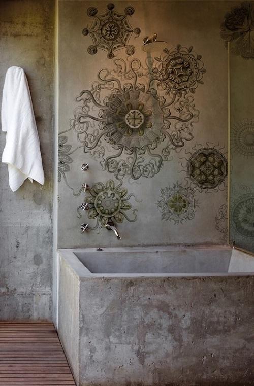 Итальянские фотообои для ванной комнаты
