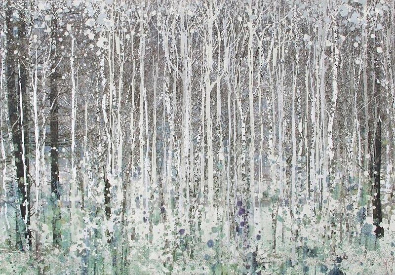 Фотообои с рисунком леса