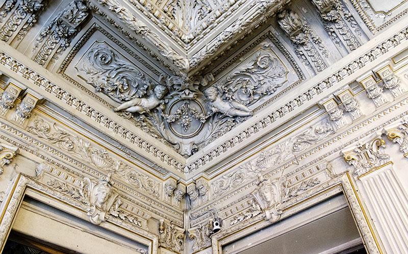 Детали отделки потолка