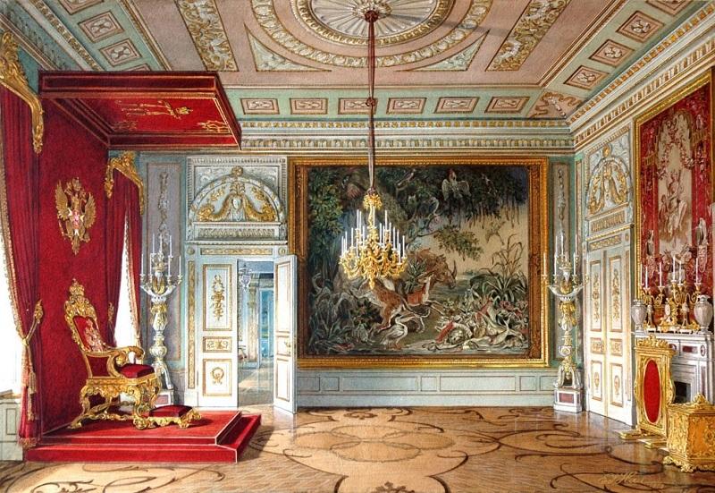 Тронный зал Павла Первого