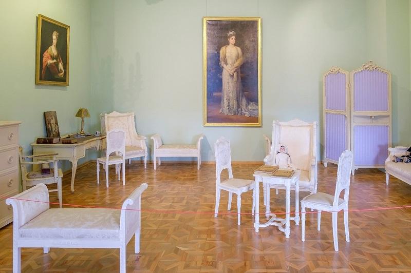 Кабинет императрицы Александры Федоровны