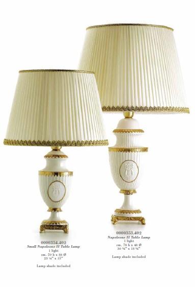 Настольные лампы Villari в стиле Ампир