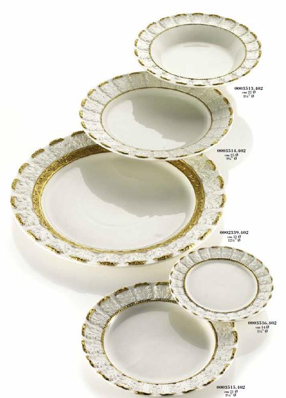 Фарфоровые тарелки Villari