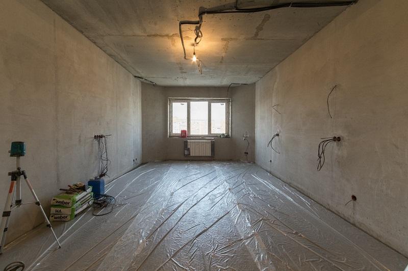 Процесс ремонта в квартире. Дизайнер Надежда Кузина