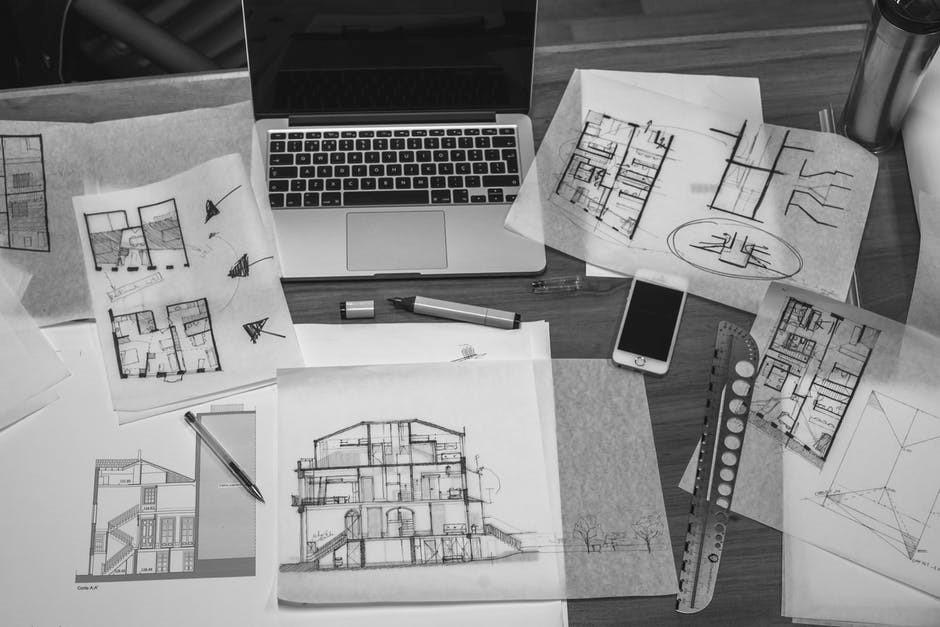 Рабочий процесс дизайна интерьера