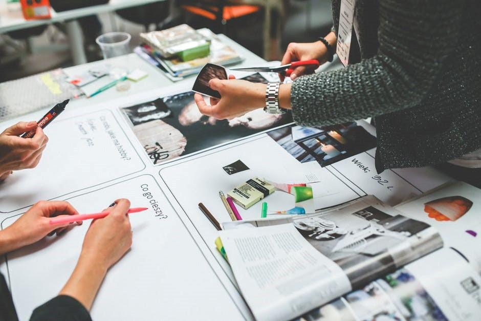 Процесс создания дизайн-коллажа