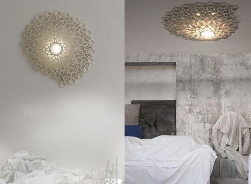 Потолочный светильник, который может быть настенным