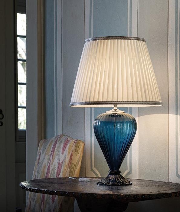 Настольная лампа из муранского стекла фабрики Sylcom
