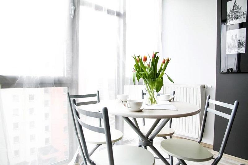 Столовая зона в квартире