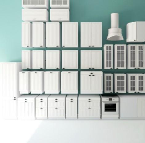 3Д модели кухонных элементов