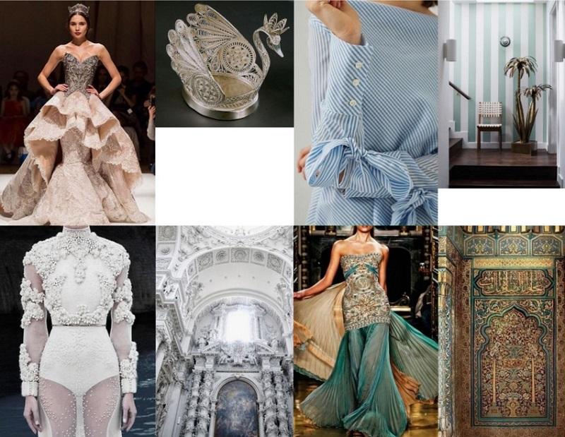 Модная одежда, похожая на интерьеры