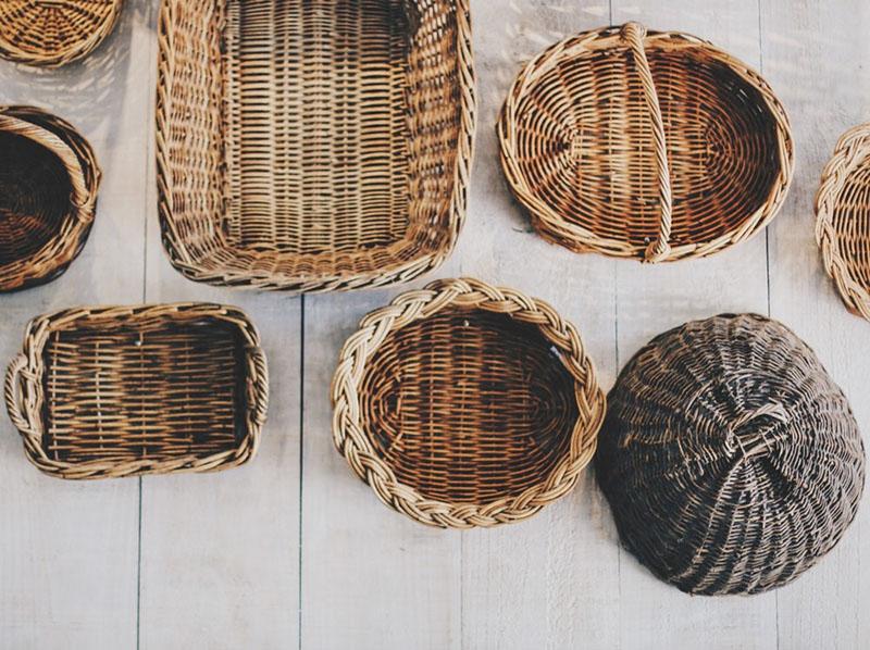 Набор декоративных корзинок