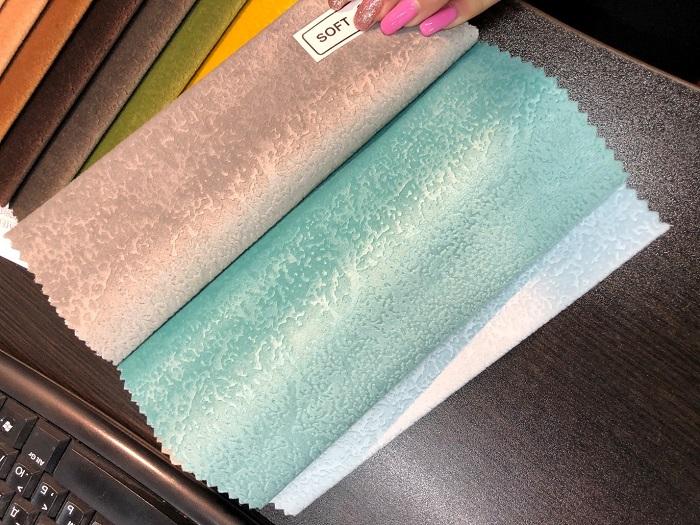 Дешевая ткань, имитирующая дорогую
