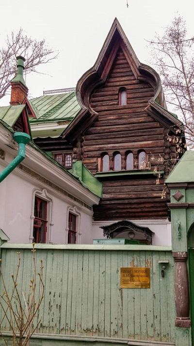 Дом В.Васнецова в Москве