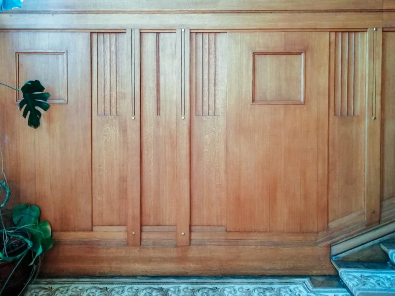 Стеновые панели в доме купца Носова