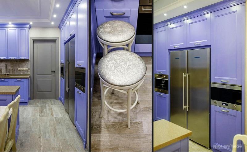 Кухня из дерева. Проект дизайнера Надежды Кузиной