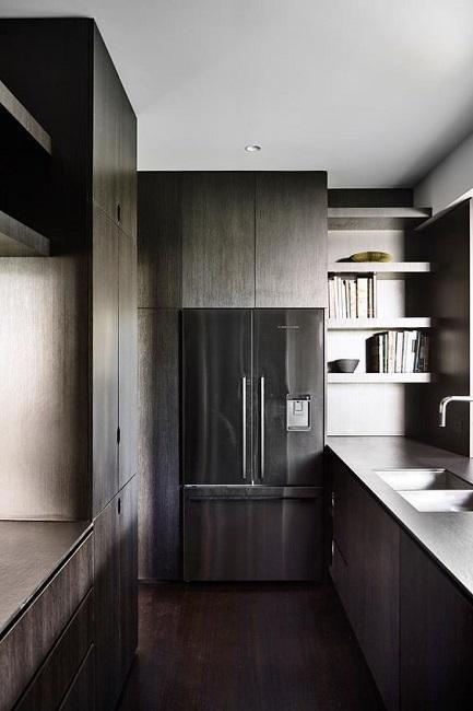Современная ламинированная кухня