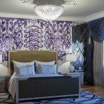 Статья в блоге о дизайне интерьера: Как повесить люстру в спальне