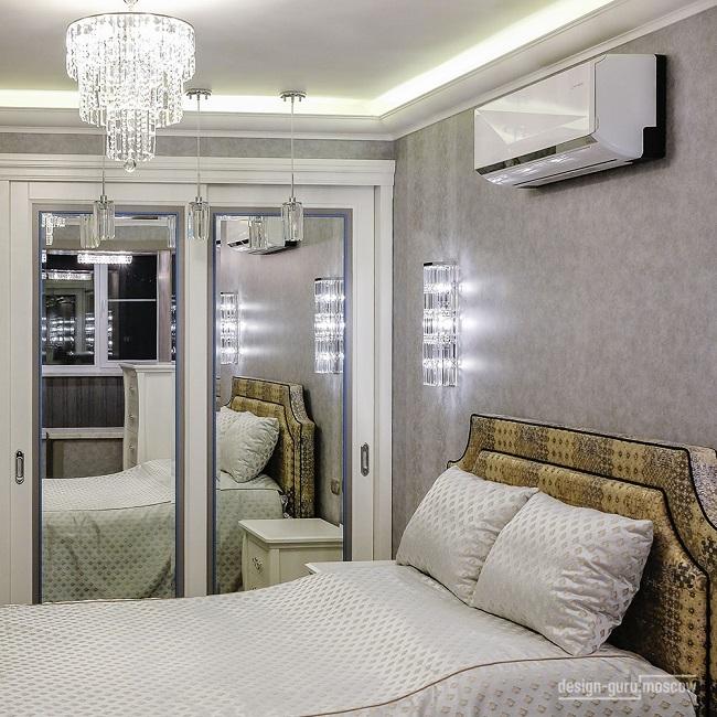 Дизайн спальни. Проект дизайнера Надежды Кузиной