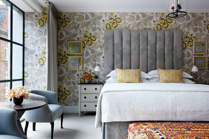 Дизайн спальни от Kit Kemp