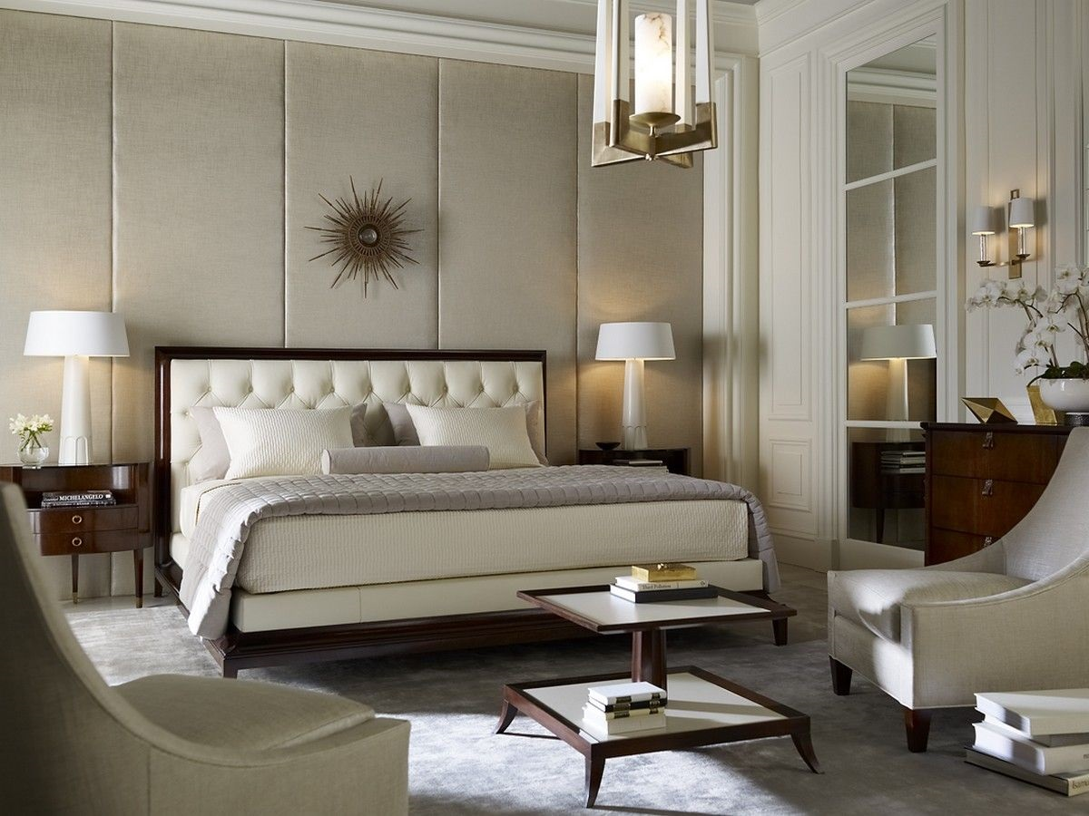 Дизайн спальни Томаса Физанта