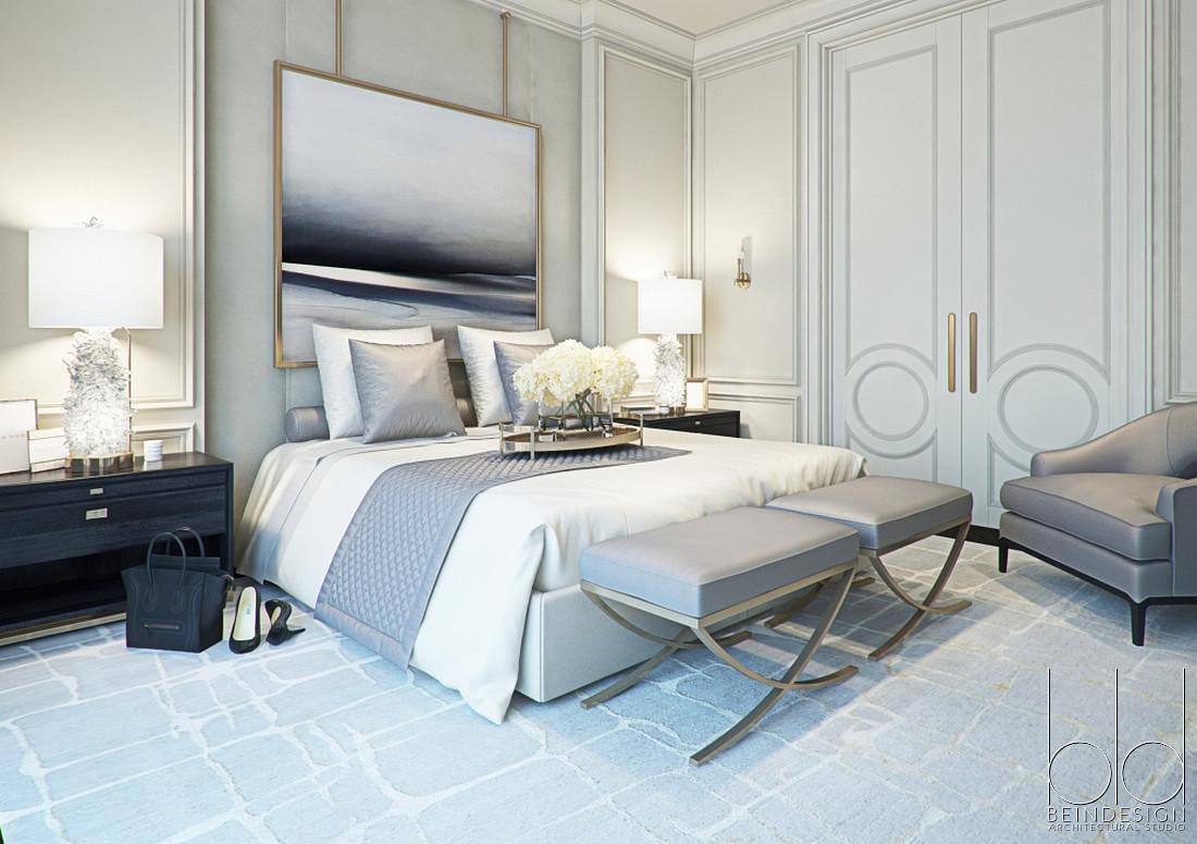 Дизайн спальни бюро Be-in-design