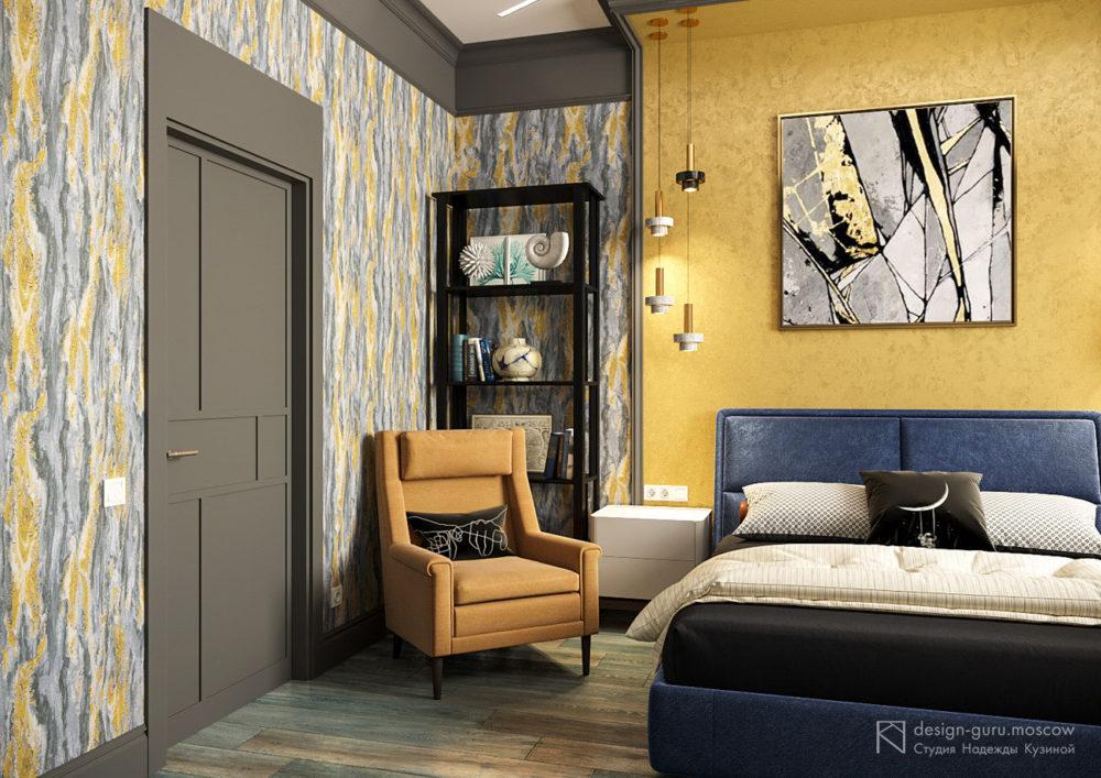 Стильная спальня для мальчика-подростка