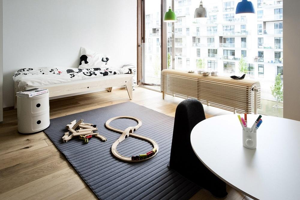 Вариант детской в современной квартире