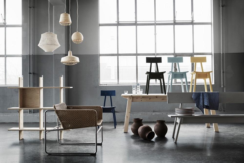 Коллекция Industriel для ИКЕА. от дизайнера Пита Хайна Эйка